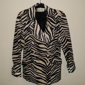 ♥️😊Darling zebra print jacket🌹